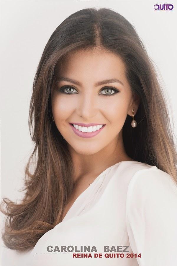 Carolina Baez nueva Reina de Quito 2014 2015