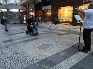 Evangelismo nas ruas de São Paulo SP Março /13