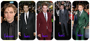 Robert Pattinson at the: Twilight Premiere in a nice all black suit by .