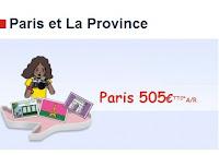 Air France Vols départ Antilles vers Métropole, billets 500 euros