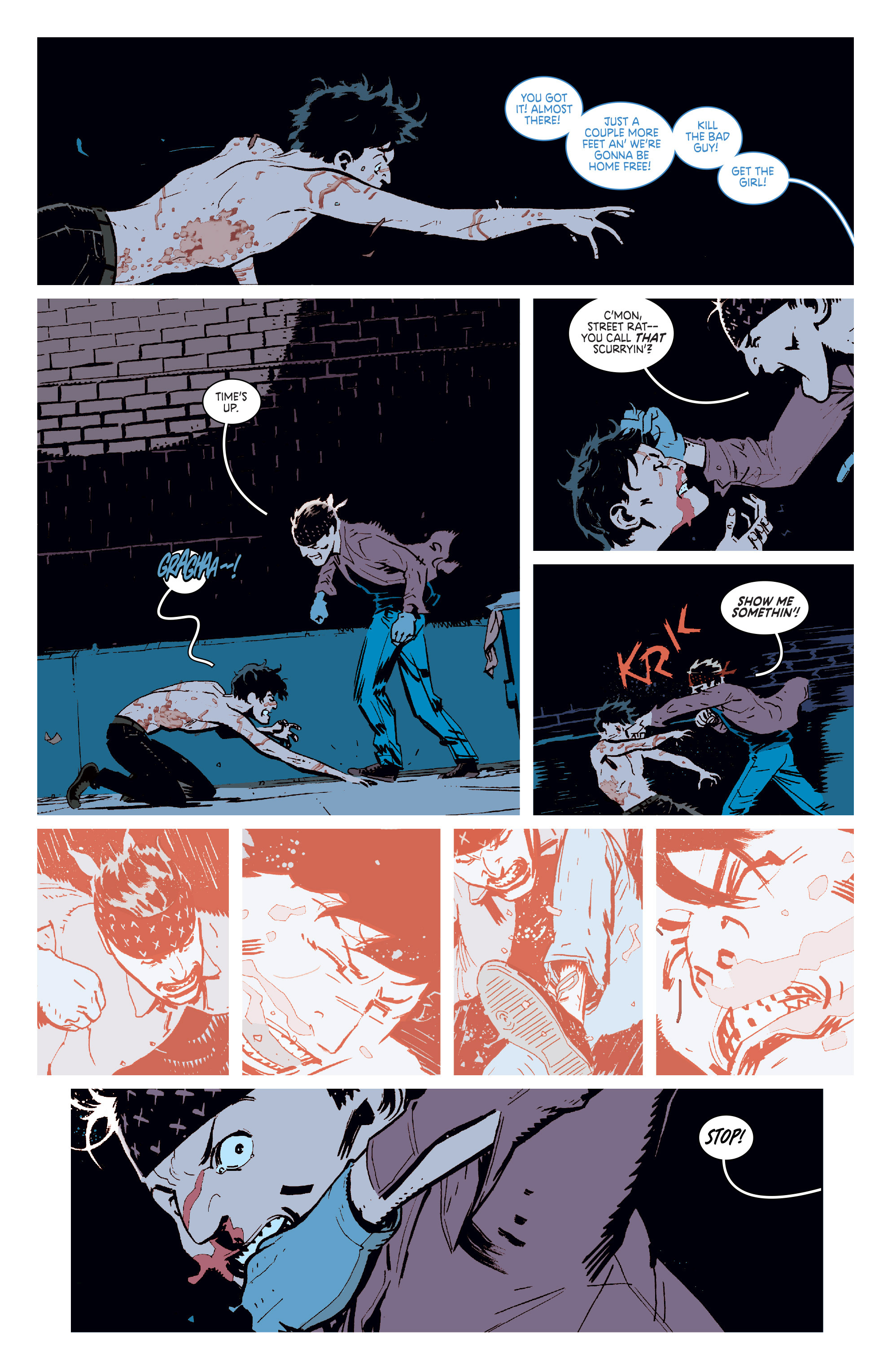 Read online Deadly Class comic -  Issue #6 - 9