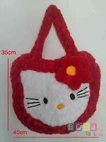 Tas Hello Kitty Warna Merah