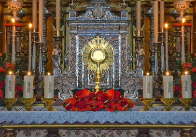 Adoración al Santísimo Sacramento