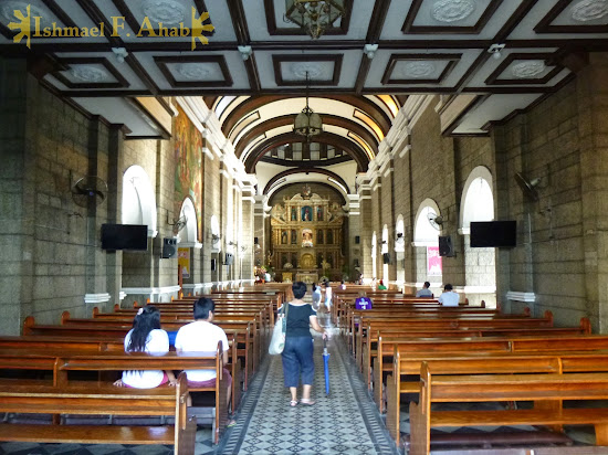 Inside Santa Ana Church, Manila