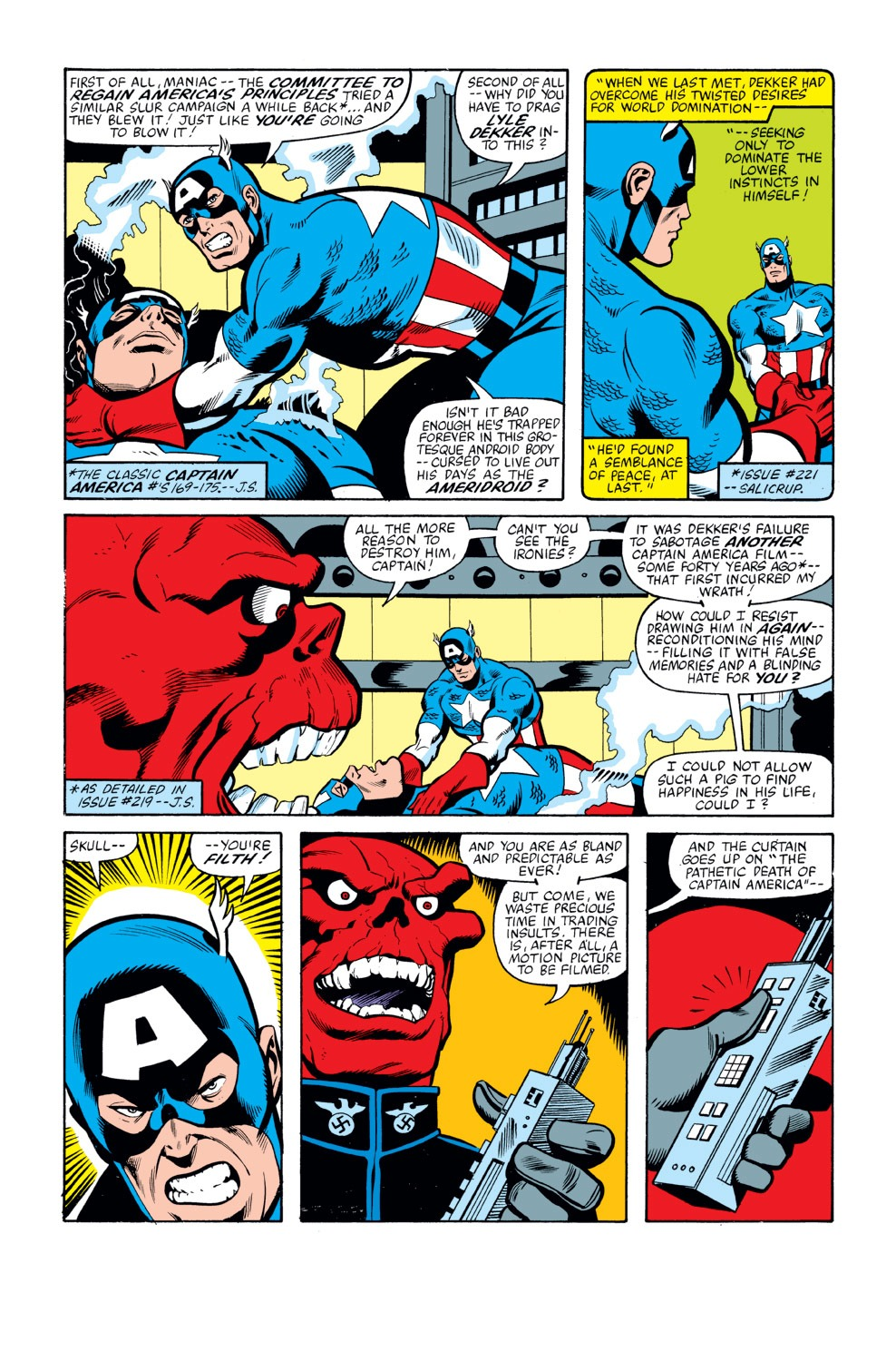 Captain America (1968) Issue #263 #178 - English 4