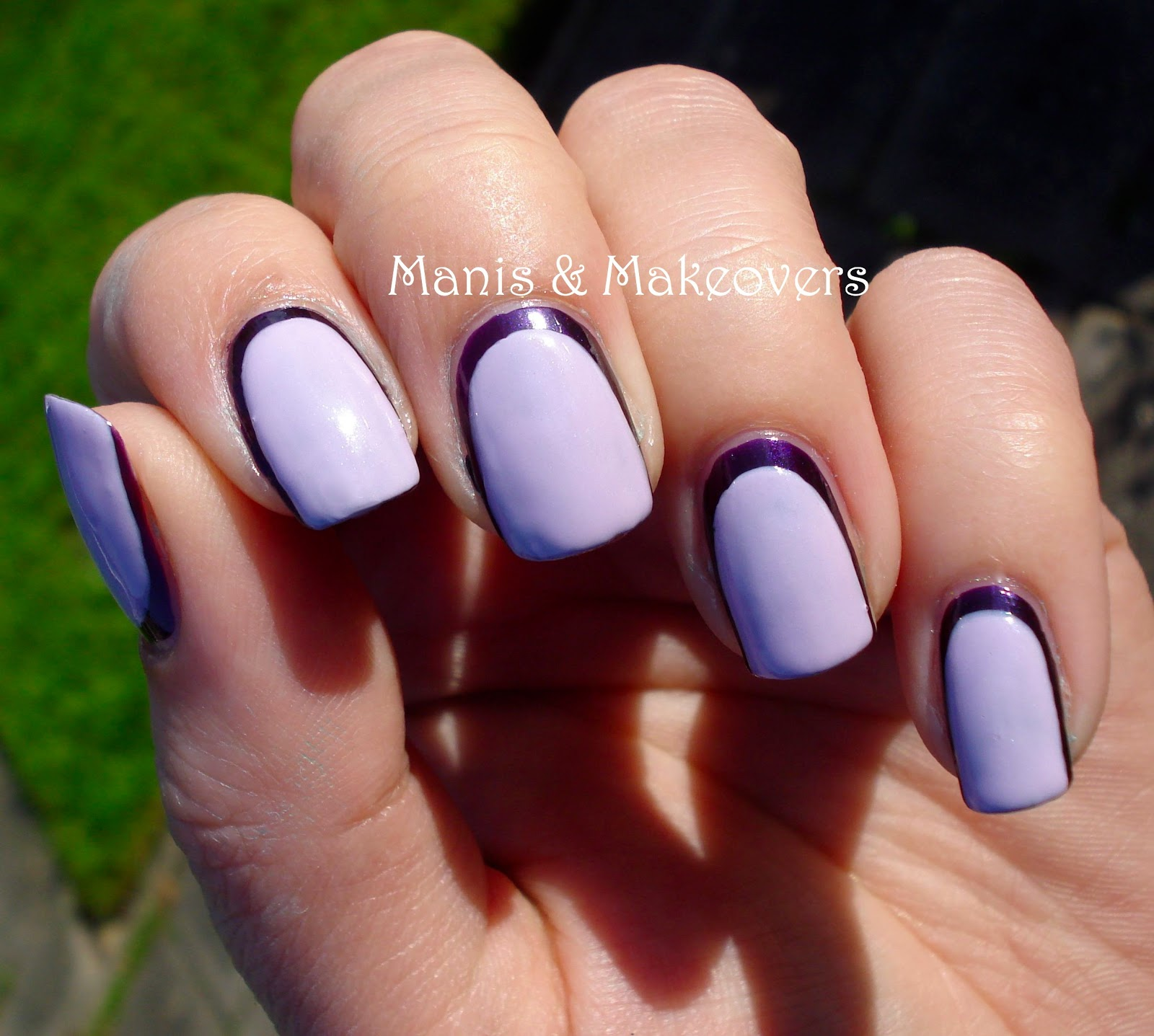 Manis & Makeovers: How to make your short nails look ...