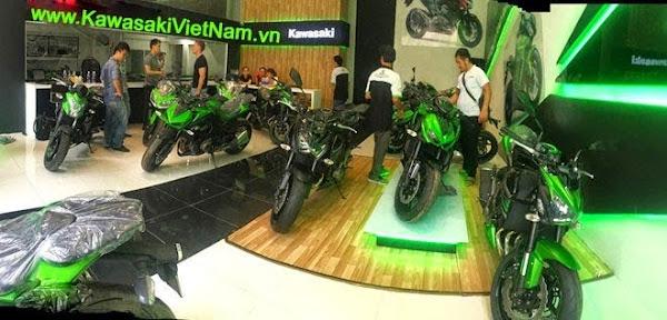 Kawasaki chính hãng tại Việt Nam
