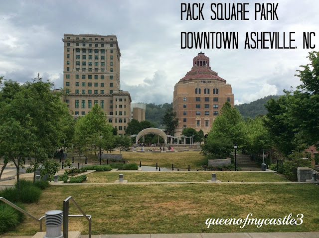 Pack Square Park Asheville, NC