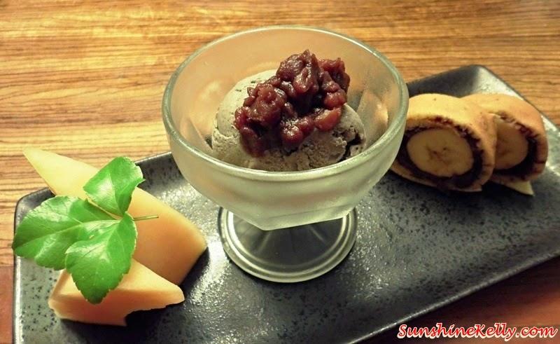 Genji Japanese Restaurant, Hilton Petaling Jaya, Osaka Tokyo Menu, Japanese Food, Dessert, Azuki Banana Dorayaki