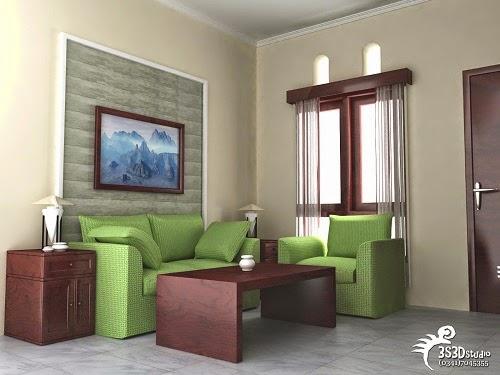 Gambar Desain Ruang Tamu Rumah Minimalis SEDERHANA PILIHAN 002