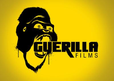 guerilla films logo design