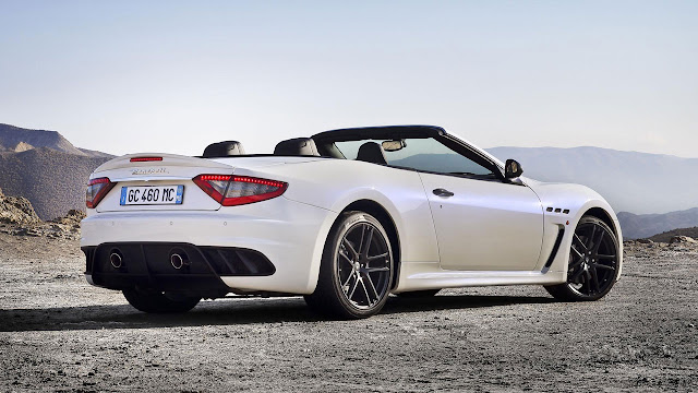 Maserati GranCabrio MC back