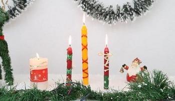 Como decorar velas para navidad portal de manualidades - Como decorar velas ...