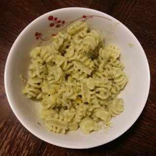 Weighing In On PKU: Creamy Avocado Pasta Sauce