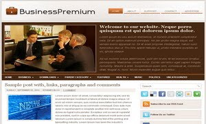 BusinessPremium Blogger Template