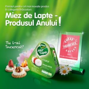 Miez de Lapte - Produsul Anului 2013!