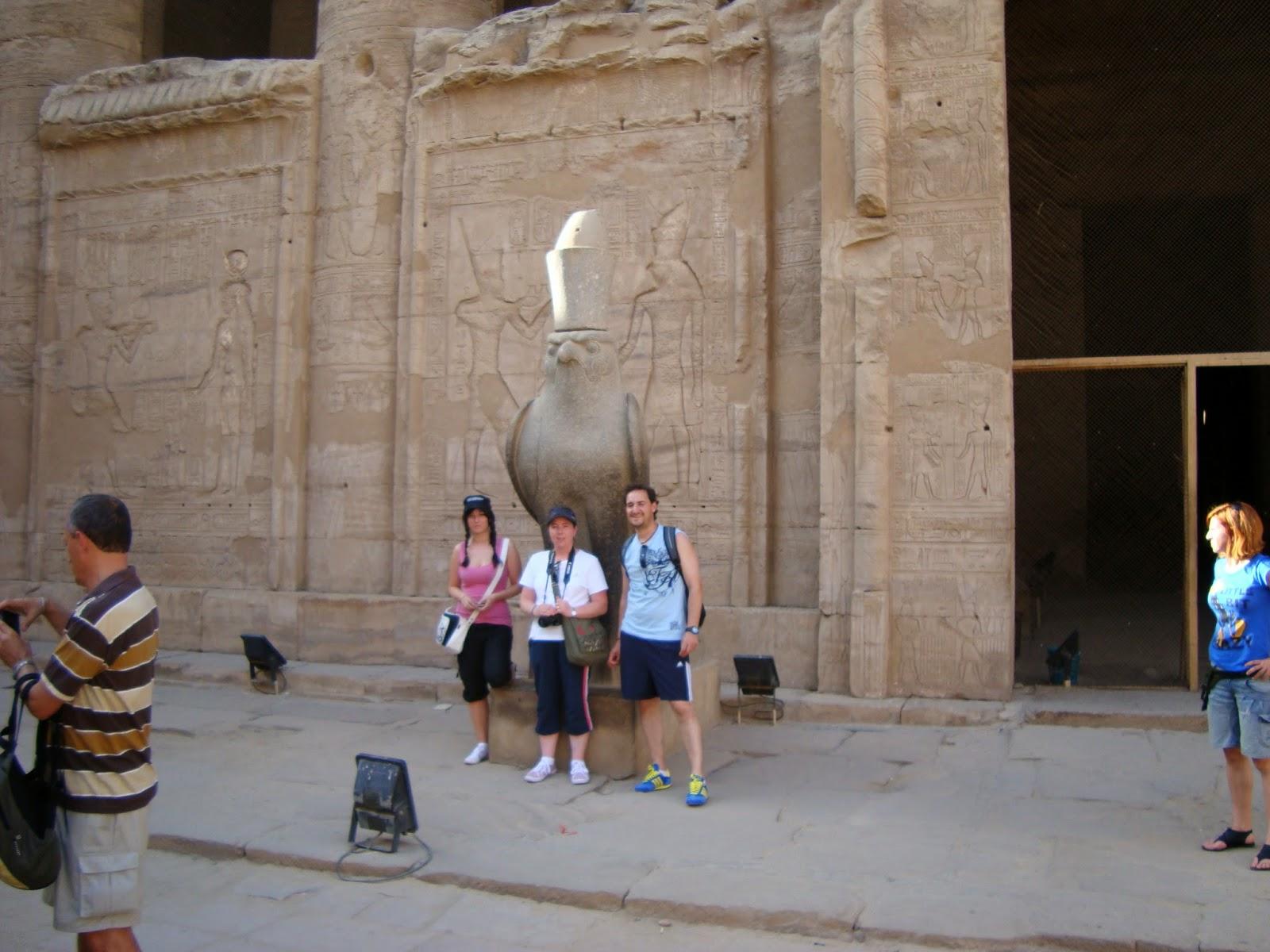 Viaje a Egipto: templo e historia de Edfu (Edfo)