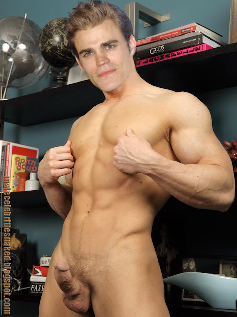 Paul wesley gay naked fake