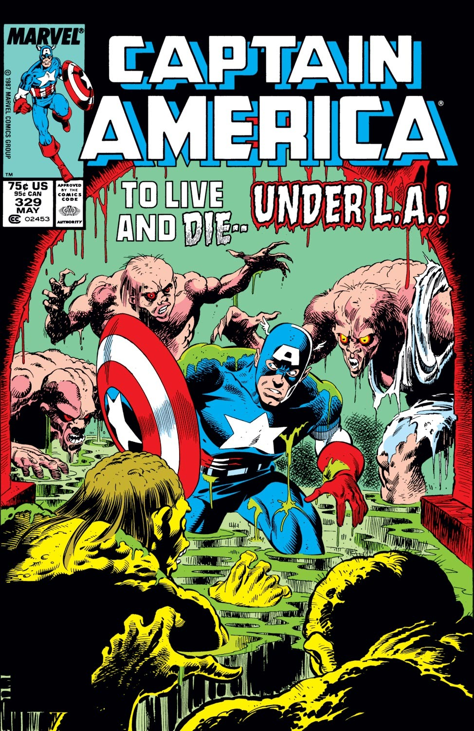 Captain America (1968) Issue #329 #258 - English 1