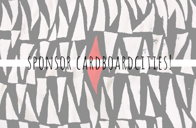 sponsor cardboardcities blog