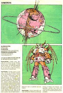 Unicron (ficha transformers)