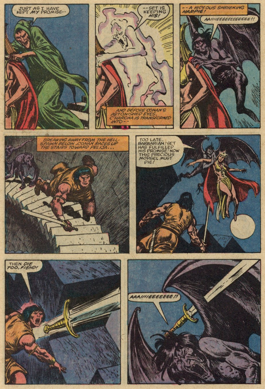Conan the Barbarian (1970) Issue #147 #159 - English 23