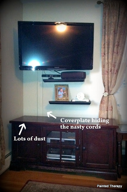 Ana white tall corner media console diy projects with that in mind our tv set up was just not working with jack if i had a nickel for every time i told jack to stop standing in front of the tv malvernweather Choice Image
