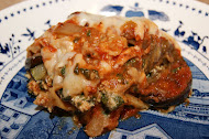 Grilled Vegetables and Whole Wheat Lasagna