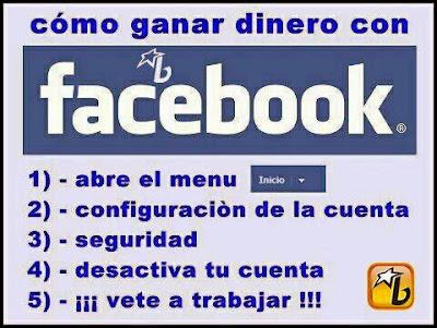 Cómo Ganar Dinero con Facebook (Humor)