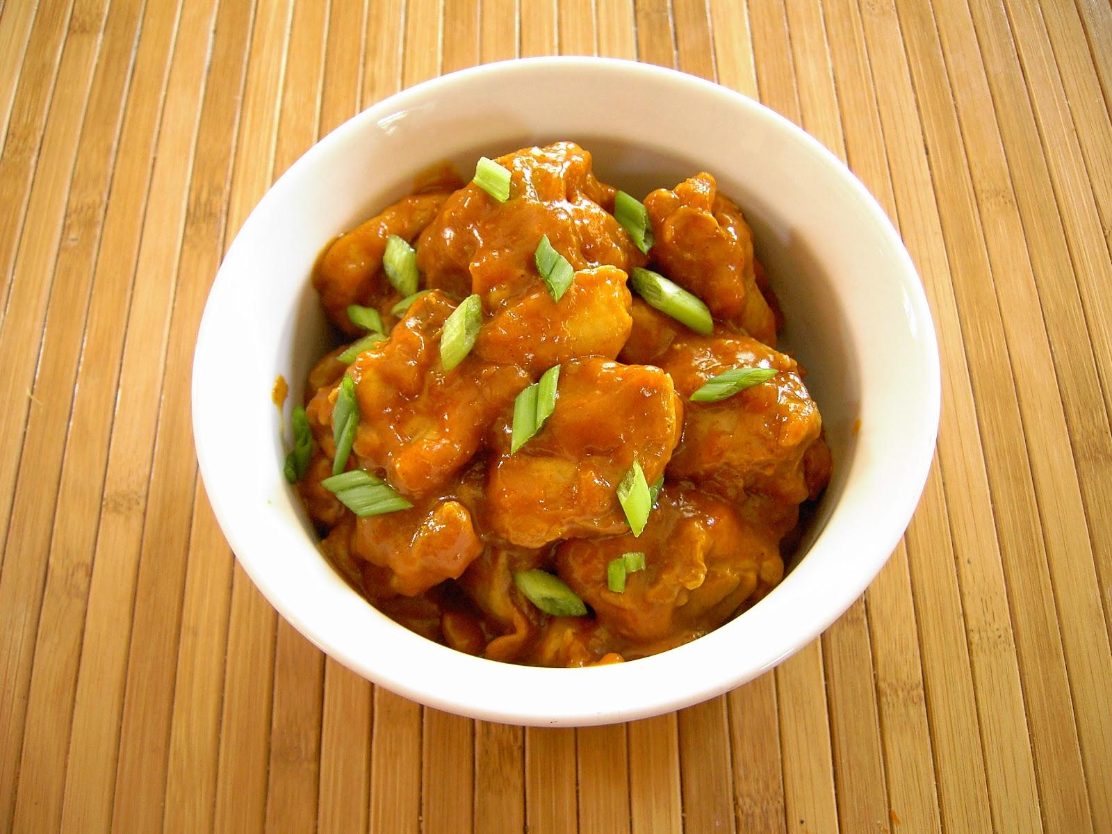 orange chicken ingredients marinate 1 lb boneless skinless chicken ...