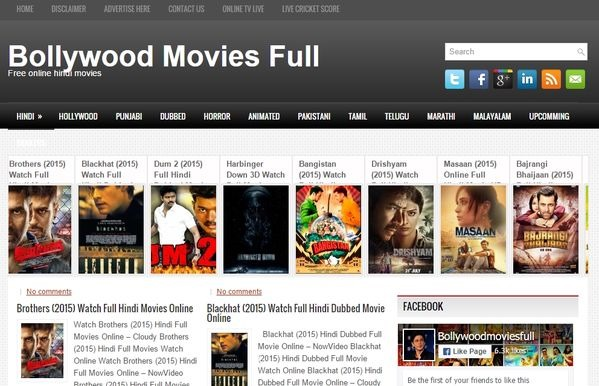 best free bollywood movies websites