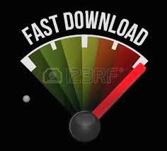 kecepatan download yang cepat super fast speed