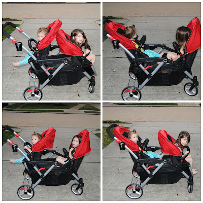 Stroller seating options