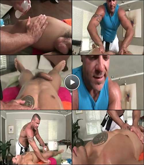 hot massage for men video