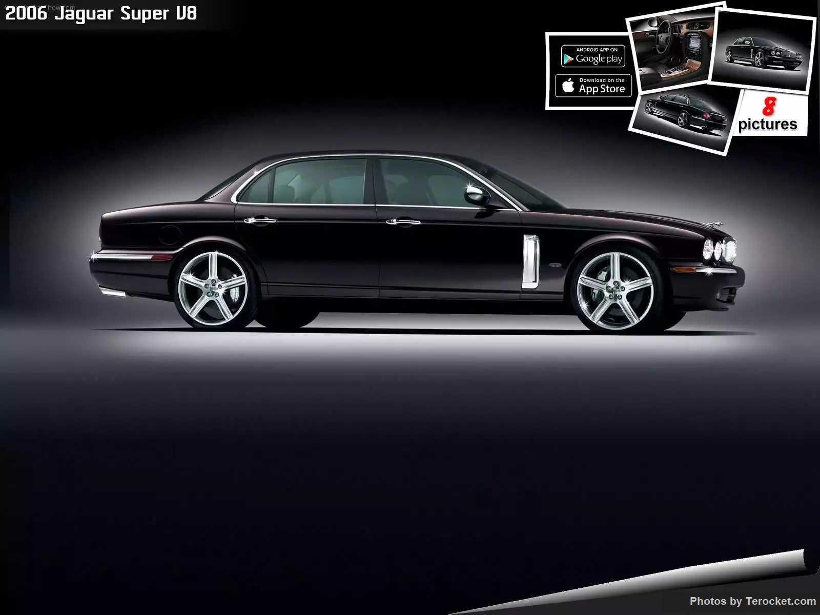 Hình ảnh xe ô tô Jaguar Super V8 2006 & nội ngoại thất