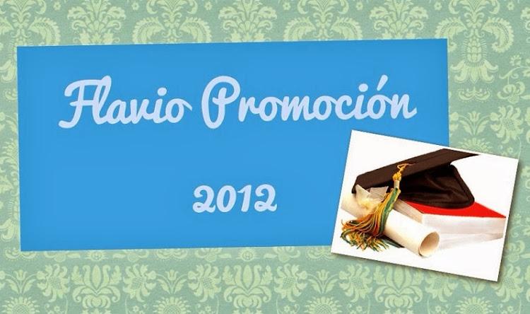 FLAVIO PROMOCIÓN 2.012