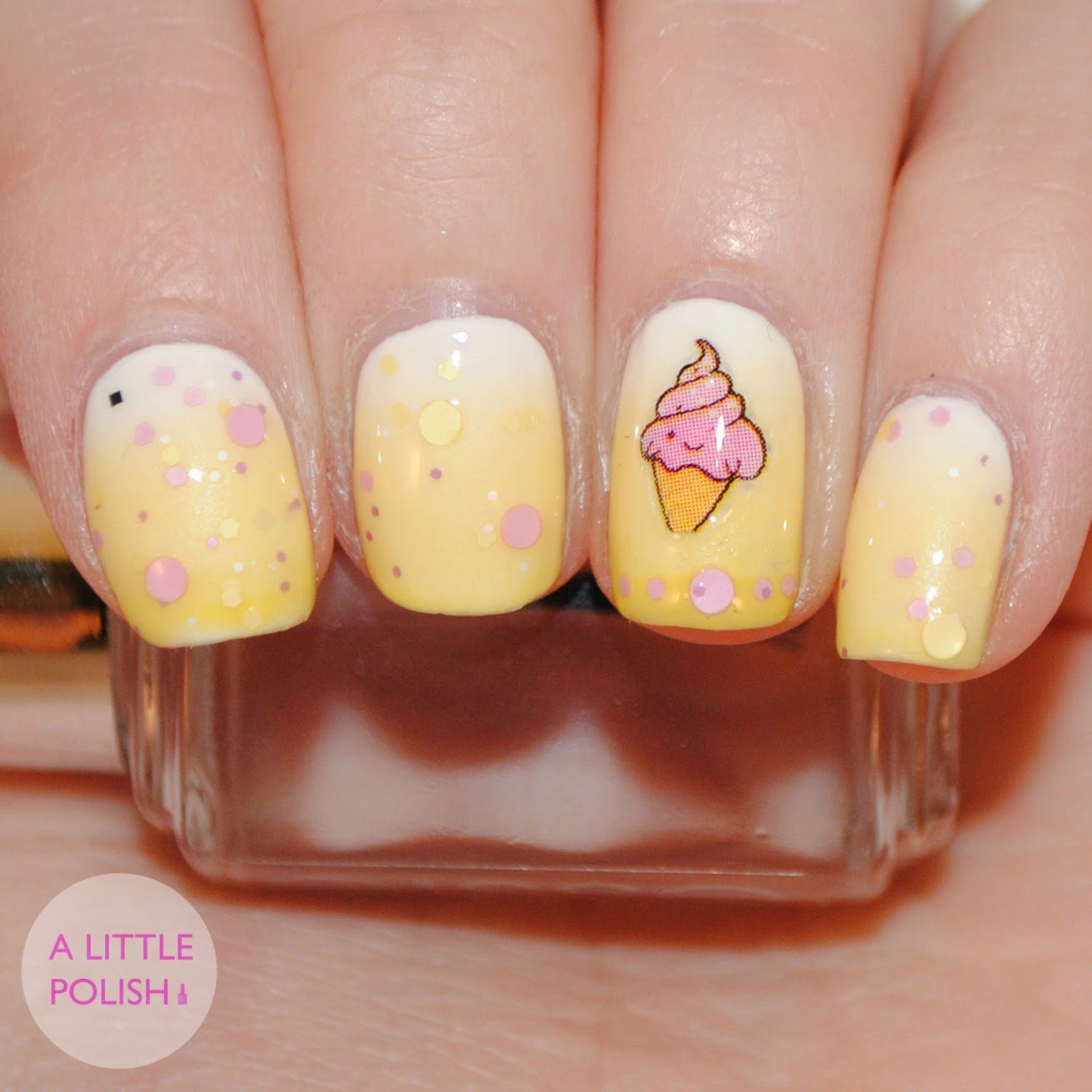 Tuesday Nail Polish: A Little Polish: Twinsie Tuesday: Nails Inspired By