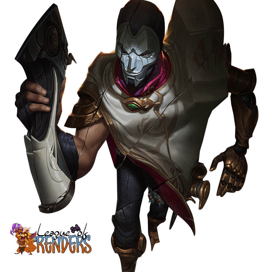 RENDER -Jhin, the Virtuoso