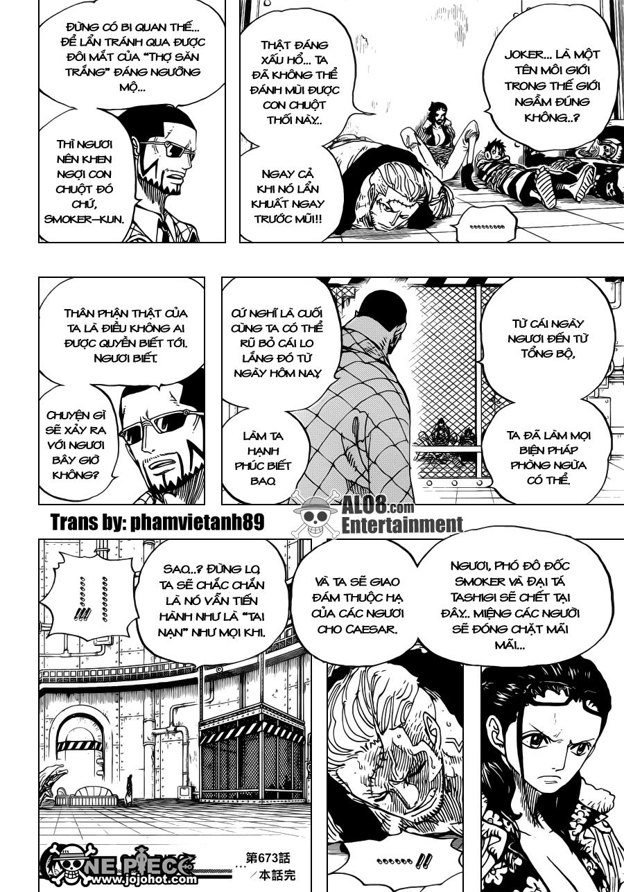 One Piece Chapter 673: Vergo & Joker 018