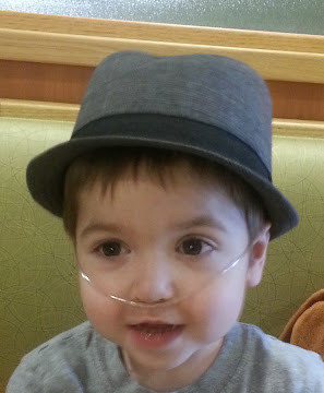 Samuel -  After 3 years fighting, this warrior teaches us faith and hope every single day.