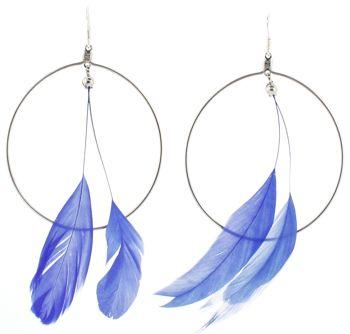 Wedding Bride: Fashion Earrings: Feather earrings