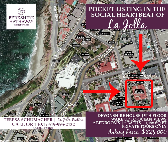 Ocean View Condo For Sale in La Jolla | Pocket Listing