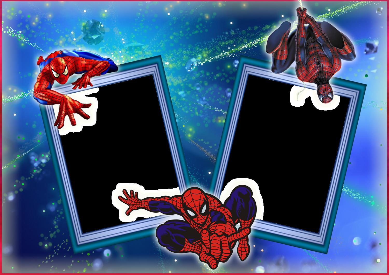 Spider-Man Happy Birthday Frames