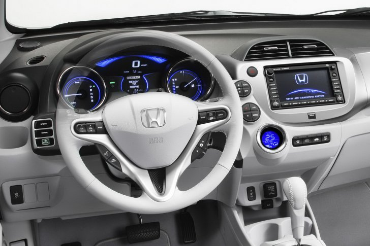 Honda Fit Interior Car Top Of Design Trend