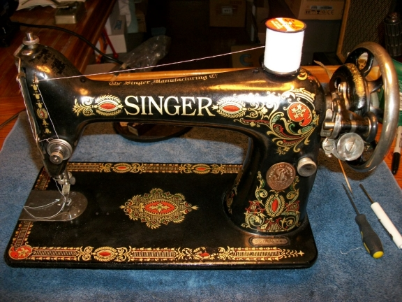 singer sewing machine model 66 manual