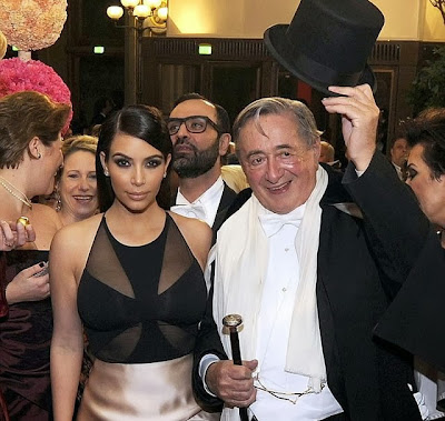 Kim Kardashian annoying escort