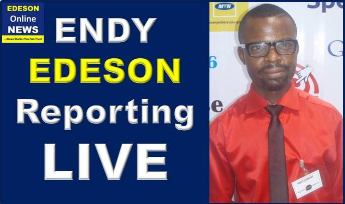 EDESON LIVE REPORTS: Click Image to Read Stories Reported Live by ENDY EDESON