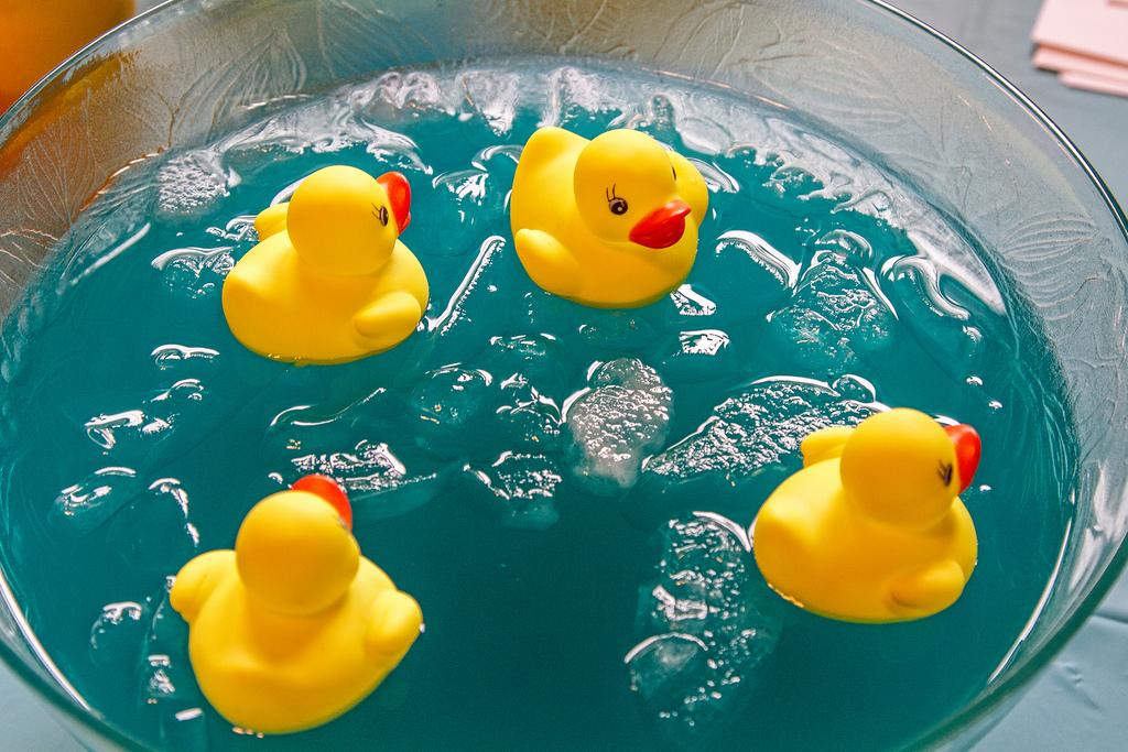 Baby Shower Punch Blue With Ducks Driveeapusedmotorhomefo