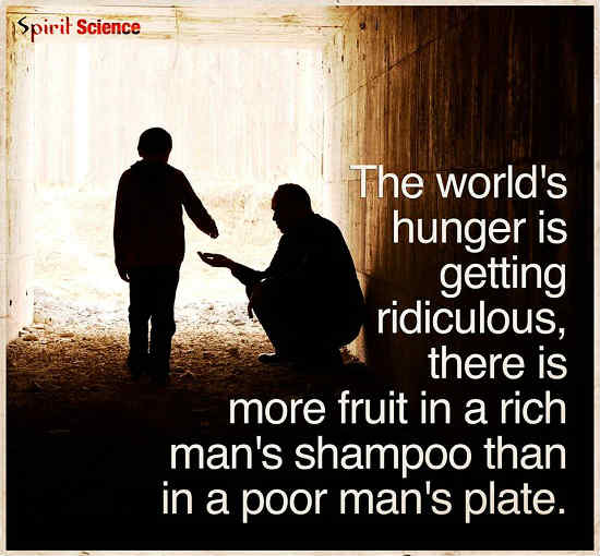 Hunger Quotes Amazing The World's Hunger Is Getting Ridiculous There Is More Fruit In A