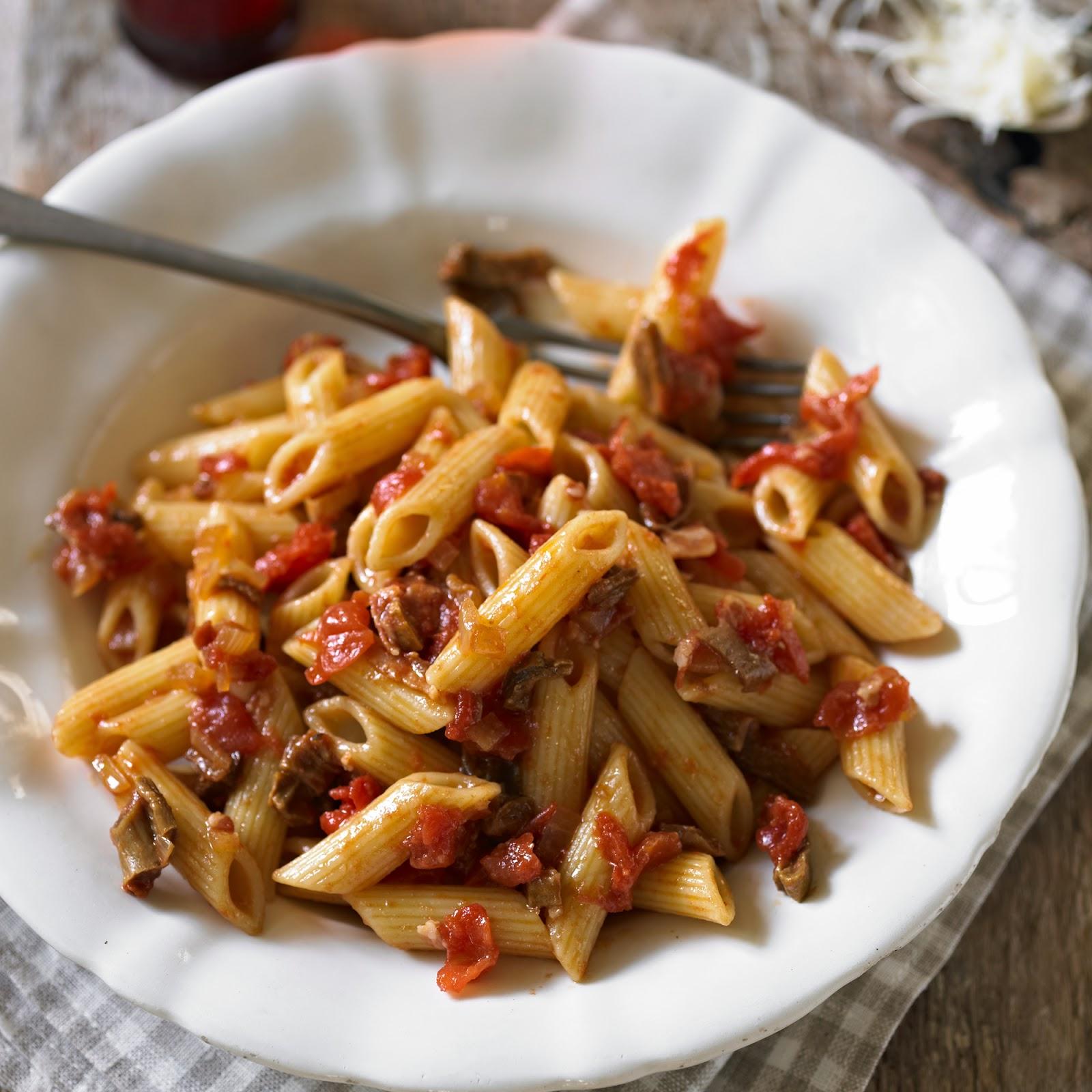 dried-porcini-penne-tomato
